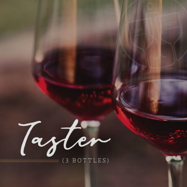 The Taster • Insiders Wine Club • 3 Bottle Club
